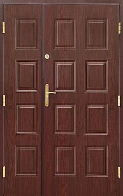 Plastové dveře dvoukřídlé
